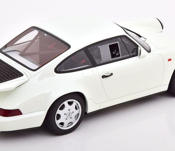 Porsche 911 (964) Carrera 4 Lightweight Wit 1-18 GT Spirit Limited 999 Pieces