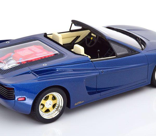 Ferrari Testarossa Spider Koenig Special Blauw Metallic 1-18 GT Spirit Limited 999 Pieces
