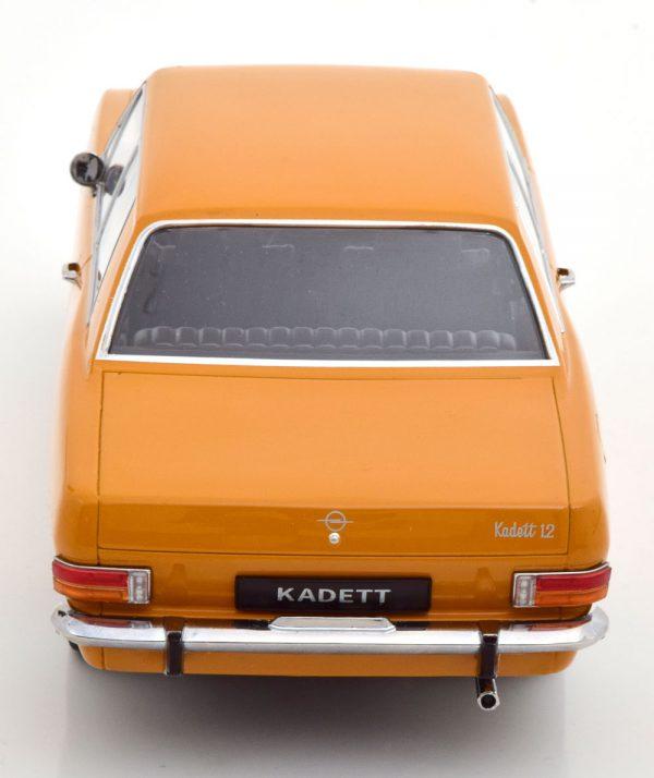 Opel Kadett B 1965 Oranje 1-18 KK Scale ( Metaal )