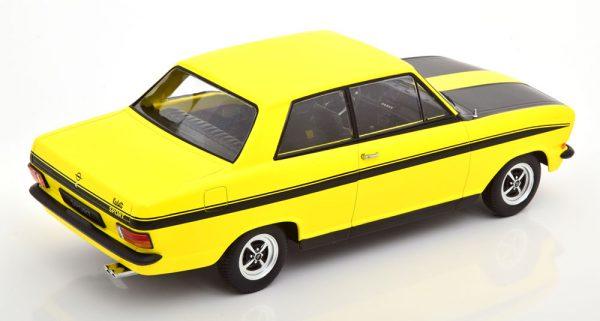 Opel Kadett B Sport 1973 Geel / Zwart 1-18 KK Scale