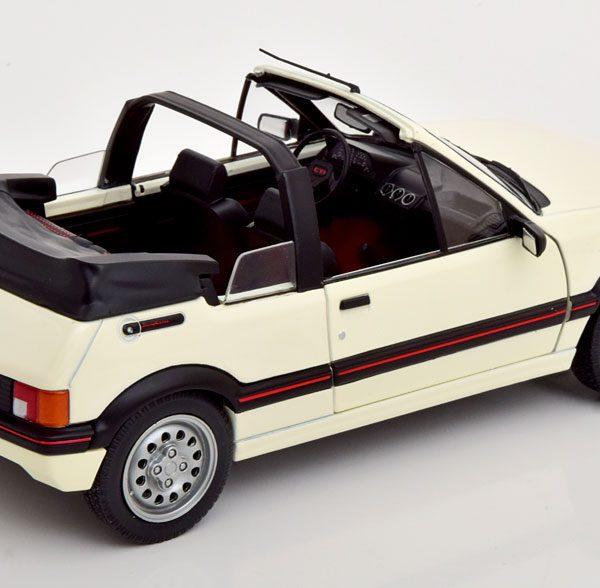 Peugeot 205 CTI Cabriolet 1989 Wit 1-18 Solido