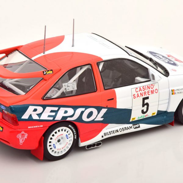 Ford Escort RS Cosworth Nr.4, Rally San Remo 1996 Sainz/Moya 1-24 Ixo Models