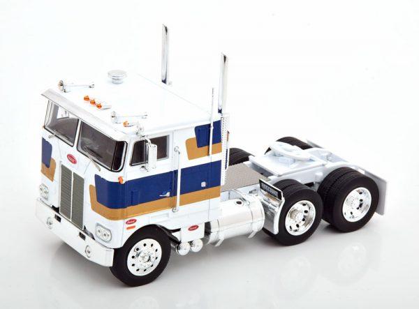 Peterbilt 352H 1979 Wit / Blauw / Goud 1-43 Ixo Models