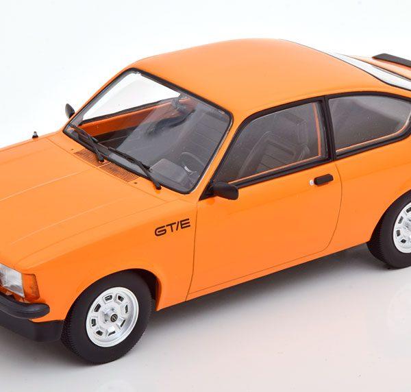 Opel Kadett C GT/E 1977 Oranje / Zwart 1-18 Norev Limited 1000 Pieces