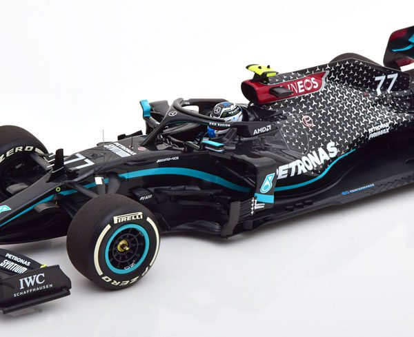 Mercedes AMG Petronas Formula One Team F1 W11 EQ Performance V.Bottas Winner Austrian GP 2020 1-18 Minichamps Limited 440 Pieces