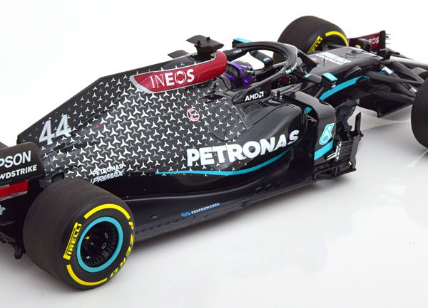 Mercedes AMG Petronas Formula One Team F1 W11 EQ Performance Louis Hamilton Winner Styrian GP 2020 1-18 Minichamps Limited 2174 Pieces