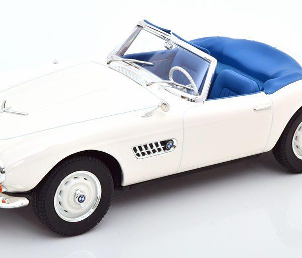 BMW 507 Cabriolet 1956 Wit 1-18 Norev