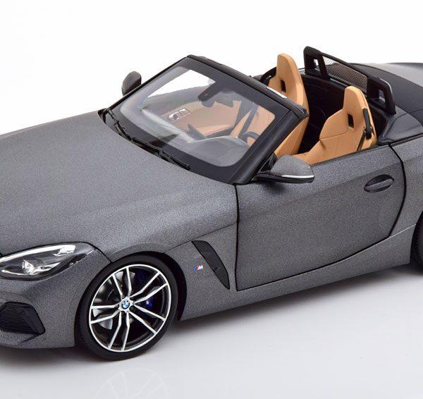 BMW Z4 (G29) Roadster 2019 Matgrijs Metallic 1-18 Norev