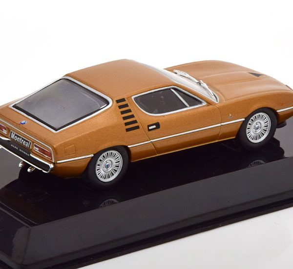 Alfa Romeo Montreal 1970 Bruin Metallic 1-43 Altaya Supercars Collection