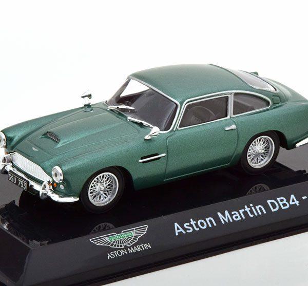 Aston Martin DB4 1958-1963 Groen Metallic 1-43 Altaya Supercars Collection