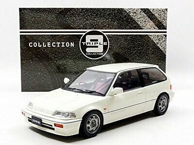 Honda Civic EF-3 1987 1-18 Wit Triple 9 Collection