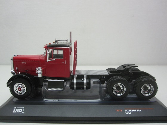 Peterbilt 281 1955 Rood 1-43 Ixo Models