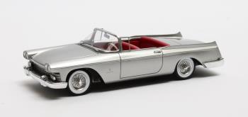 Cadillac Skylight Pininfarina open 1959 Zilver 1-43 Matrix Scale Models Limited 408 pcs.