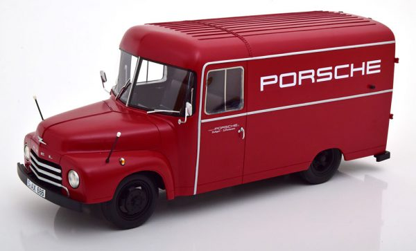 "Opel Blitz 1,75t ""Porsche Service"" Rood 1-18 Schuco Pro.R18 Limited 500 Pieces"