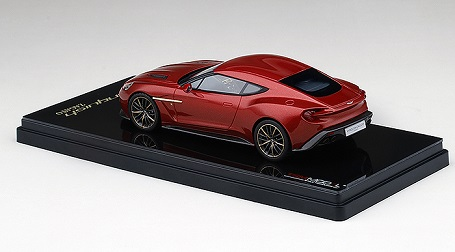 Aston Martin Vanquish Zagato 2016 Lava Rood Metallic 1:43 True Scale Models