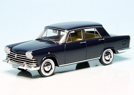 Fiat 2100 Berlina Speciale 1959 Dark Blue 1:43 Autocult Limited 333 Pieces
