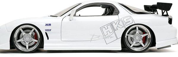 "Mazda RX-7 1993 ""Fast & Furious"" Wit 1-24 Jada Toys"