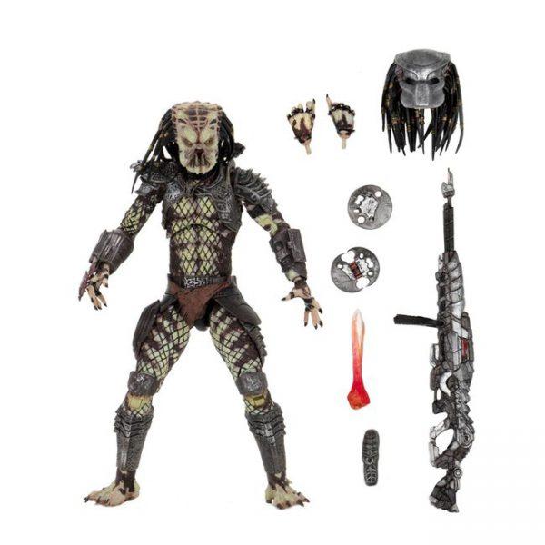 Predator 2 Ultimate Guardian Predator Afmeting 7 Inch / 17 cm Neca