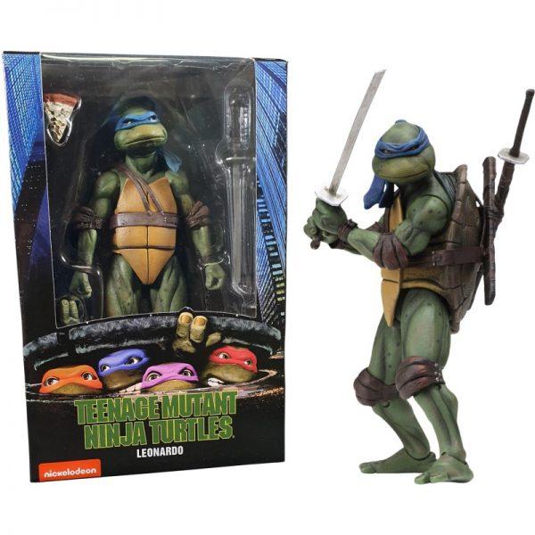 Teenage Mutant Ninja Turtles Leonardo Afmeting 7 Inch / 17 cm Neca