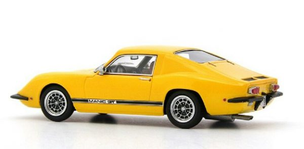 Manic GT 1969 Geel 1:43 Autocult Limited 333 Pieces