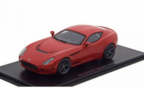 AC 378 GT Zagato 2012 Rood 1:43 Neo Scale Models