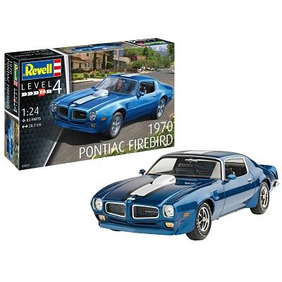 Pontiac Firebird 1970 V8 Road Car Plastic Model Kit Scale 1/24 Revell