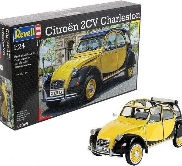 Citroen 2CV Charleston 1-24 Bouwdoos Revell