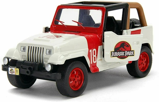 "Jeep Wrangler ""Jurassic World"" 1-32 Jada Toys"