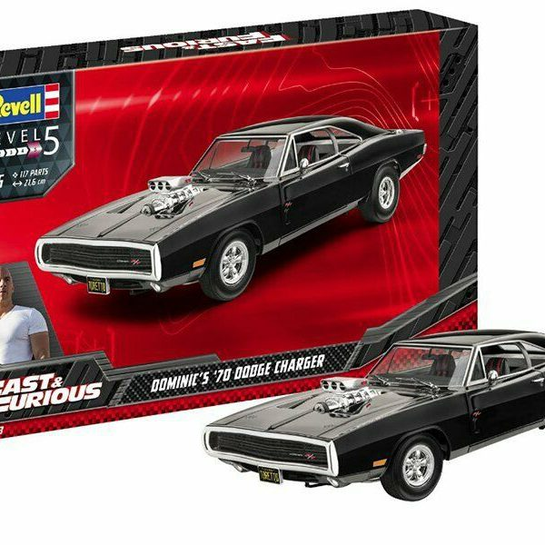 Fast & Furious - Dominic's 1970 Dodge Charger - 1/25 - Revell Bouwdoos