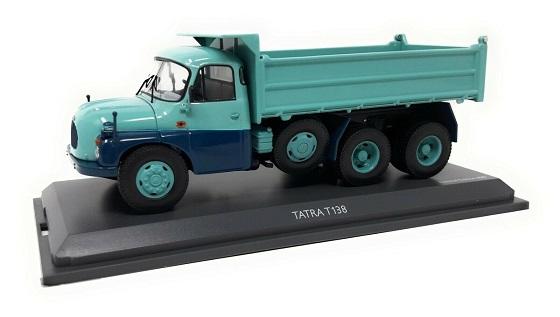 Tatra T138 Dump Truck Turquoise Blue 1-43 Schuco Limited 600 Pieces