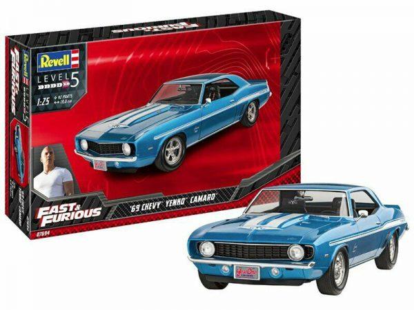 Fast & Furious - Chevy Camaro Yenko 1969 1/25 Revell