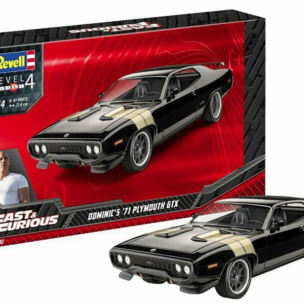 Fast & Furious - Dominic's 1971 Plymouth GTX 1-24 Revell