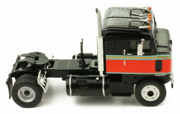 Kenworth Bullnose 1950 US Semi Truck Zwart 1/43 Ixo Models
