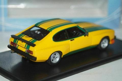 Ford Capri MKII X-Pack Geel/Groen 1-43 Neo Scale Models