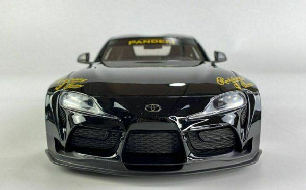 Pandem Toyota GR Supra V1.0 - Black 1-18 Top Speed ( Resin )