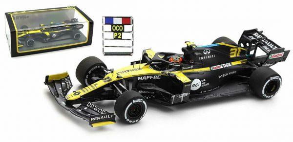 Renault RS 20 #31 2nd Sakhir GP 2020 Esteban Ocon 1-43 Spark