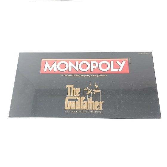 """Monopoly """"The Godfather"""" Collector's Edition Usaopoly New ( Geseald )"""