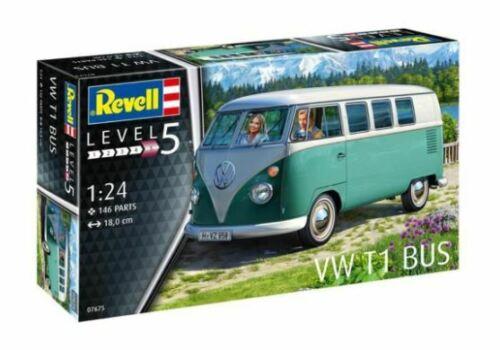 Volkswagen T1 Bus 1-24 Bouwdoos Revell