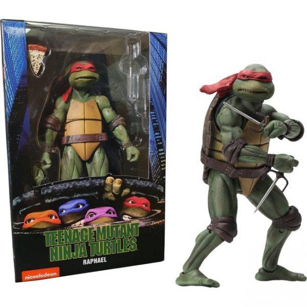 Teenage Mutant Ninja Turtles Raphael Afmeting 7 Inch / 17 cm Neca