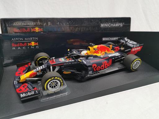 Aston Martin Red Bull Racing RB16 Max Verstappen Winner 70th Anniversary GP 2020 1-18 Minichamps Limited 354 Pieces