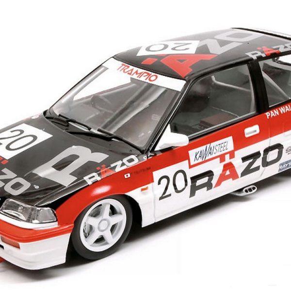 Honda Civic EF3 #20 RAZO TRAMPIO Macau GP 1989 Rood/Zwart/Wit 1-18 Triple 9 Collection