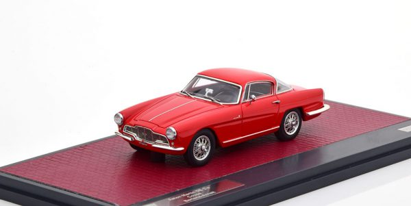 Aston Martin DB2/4 Coupe Bertone Arnolt 1953 Rood 1-43 Matrix Scale Models Limited 240 pcs.