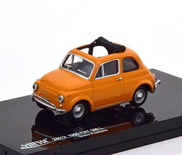 Fiat 500 L 1968 Oranje 1-43 Vitesse