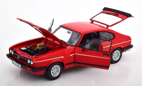 Ford Capri MKIII 2.8 Injection 1983 Rood 1-18 Norev