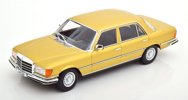 Mercedes-Benz 450 SEL 6.9 ( W116 ) 1975-1980 Goud Metallic 1-18 Iscale