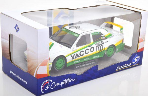 Mercedes-Benz 190E EVO 2 No.10, DTM 1991 Laffite 1-18 Solido