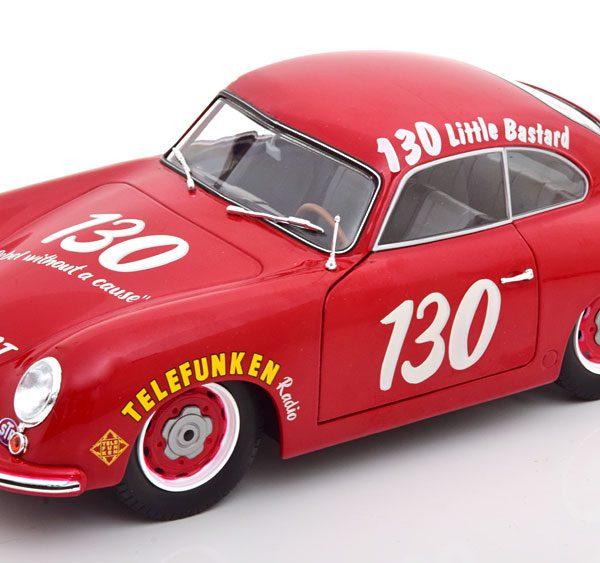 Porsche 356 Pre-A #130 Little Basterd James Dean Tribute 1953 1-18 Rood Solido