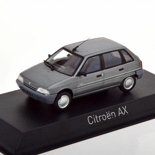 Citroen AX Ten 1992 Grijs Metallic 1-43 Norev