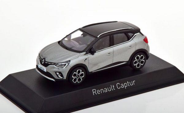 Renault Captur 2020 Grijs Metallic / Zwart 1-43 Norev