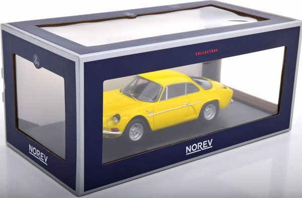 Renault Alpine A110 1600S 1971 Geel 1-18 Norev